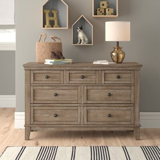 Three Posts North Andover 6 Drawer Double Dresser Baby & Kids