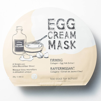 Too Cool for School Egg Cream Firming Mask 28g