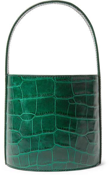 96a47e19d1ff07 Dark Green Leather Handbags - ShopStyle