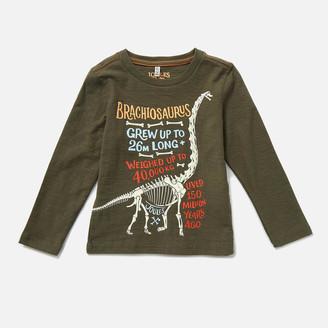 Joules Kids' Raymond Glow In The Dark Long Sleeve T-Shirt