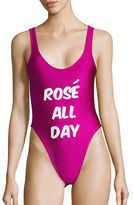 Private Party Rose All Day One-Piece Swimsuit