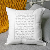 Modo creative Personalised Baby Wish Cushion