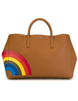 Anya Hindmarch large 'Rainbow Featherweight Ebury' tote