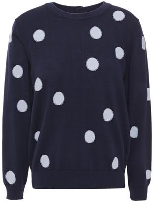 Paul Smith Polka-dot Intarsia Cotton Sweater