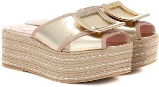 Roger Vivier Bikiviv 70 espadrille sandals