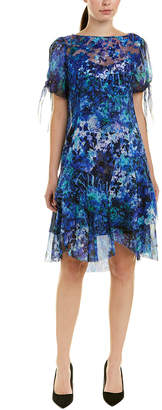 Elie Tahari Silk Shift Dress