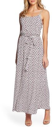 Cece By Cynthia Steffe Marrakesh Ditsy Sleeveless Maxi Dress