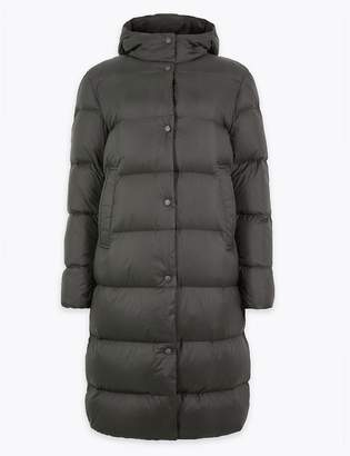 Marks and Spencer Ultralight Down & Feather Quilted Coat