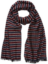 Tommy Bahama Chenille Checkered Stripe Wrap Scarf