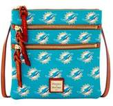 Dooney & Bourke Dolphins Triple Zip Crossbody Bag
