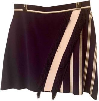 Tanya Taylor Navy Skirt for Women