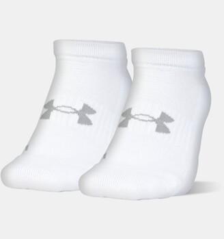 Under Armour Unisex UA Train No Show 2-Pack Socks