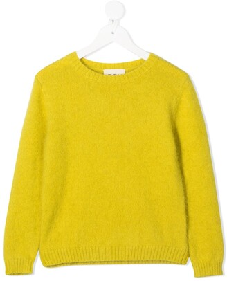 Douuod Kids Wool Crew Neck Jumper