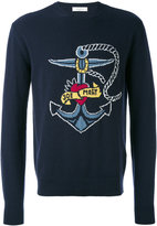 Valentino nautical jumper - men - Cashmere/Virgin Wool - S
