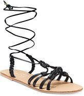 Nanette Lepore Nanette by June Flat Lace-Up Sandals