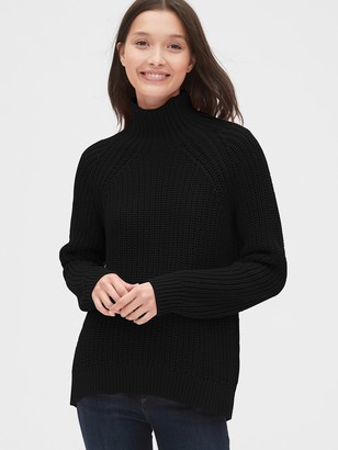 Gap Shaker Stitch Turtleneck Sweater