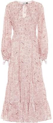 Rixo Lori paisley cotton maxi dress