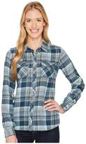 Marmot Bridget Flannel Long Sleeve Women's Long Sleeve Button Up