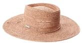 San Diego Hat Company Women's Oval Crown Raffia Hat.