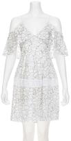Nicholas Basque Lace Dress
