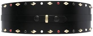 Isabel Marant Stud-Detail Leather Belt