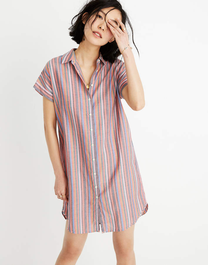 c3bfd7595df Madewell Striped Dress - ShopStyle