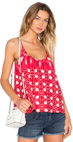 Velvet by Graham & Spencer Harlow Atlantis Print Scoop Neck Tank
