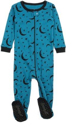 Leveret Blue Moon Footed Sleeper Pajama