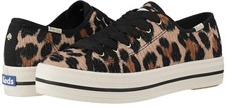 Keds x kate spade new york Triple Kick Corduroy (Leopard) Women's Shoes