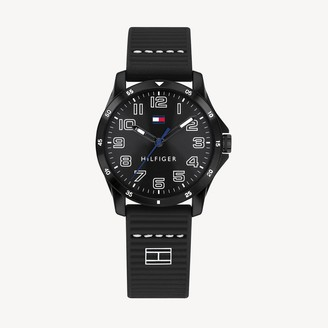 Tommy Hilfiger TH Kids Black Watch With Silicone Strap