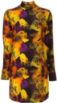 Ganni floral shift dress
