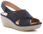 Clarks Reedly Variel Platform Wedge Sandal