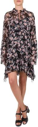 The Kooples Floral A-Line Dress