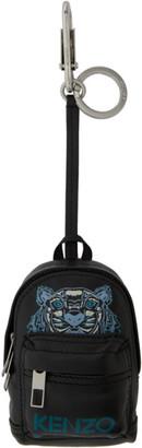 Kenzo Black Kollector Tiger Backpack Keychain
