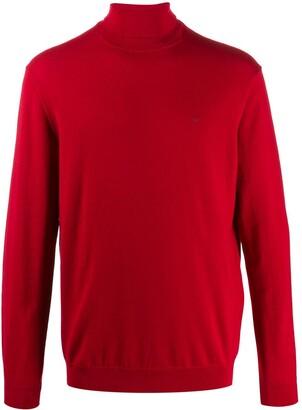 Emporio Armani Fine Knit Roll Neck Jumper