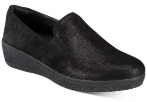 FitFlop Superskate Slip-On Wedge Sneakers Women's Shoes