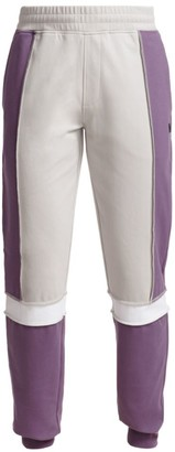 Madison Supply High-Rise Half-Zip Colorblock Pants