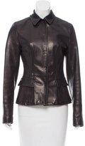 Dolce & Gabbana Lightweight Leather Jacket