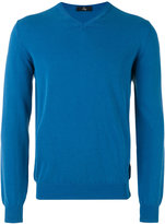 Fay v-neck sweater - men - Cotton - 46