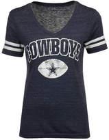 Authentic Nfl Apparel Women's Dallas Cowboys Monroe T-Shirt