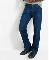 Express boot leg classic fit jeans