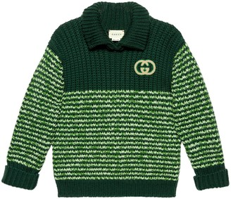 Gucci Children's wool mouline sweater