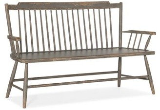 Hooker Furniture Marzano Solid Wood Bench