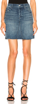 Mother Four Points Mini Fray Skirt