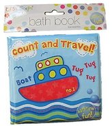 First Steps Baby Bath Book / Count & Travel / 6 Months+ by RSW