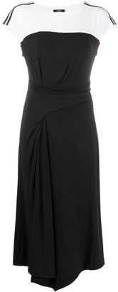 Liu Jo Asymmetric Midi Dress