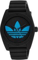 adidas Men's Santiago ADH2877 Rubber Quartz Watch with Dial