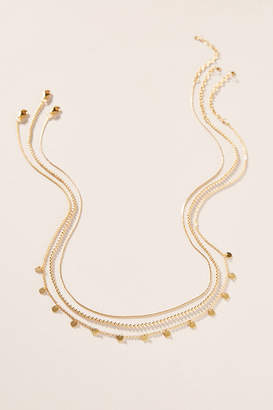 Anthropologie Larissa Layered Necklace Set