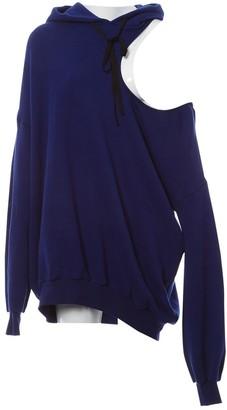 Unravel Project Blue Cotton Knitwear