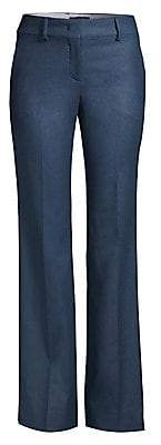 Piazza Sempione Women's Straight-Leg Stretch-Wool Pants